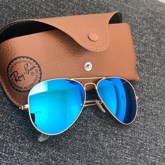 Ray-ban ray ban gladiator blue sunglasses